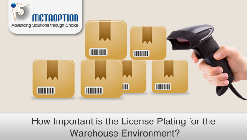 License Plating for the Warehouse Environment