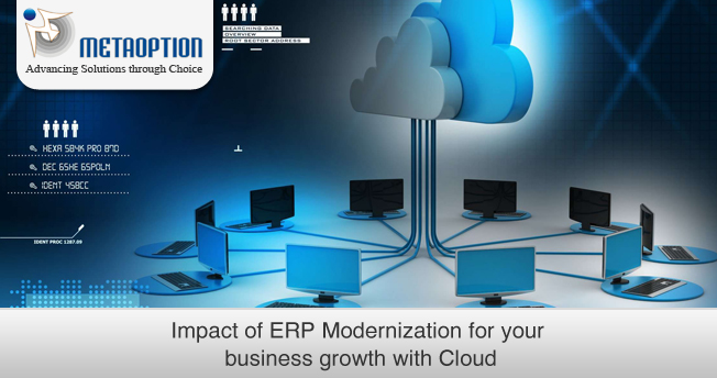 Impact of ERP Modernization for your business growth with Cloud