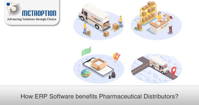 How ERP Software benefits Pharmaceutical Distributors?