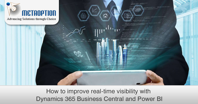 How to improve real-time visibility with Business Central and Power BI