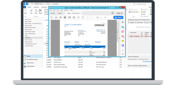MetaDocs is a document management solution